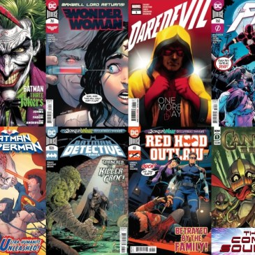 New Comic Wednesday August 26, 2020: The Comic Source Podcast