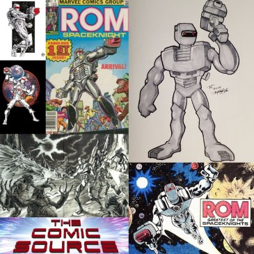 Spotlight on Rom Spaceknight: The Comic Source Podcast