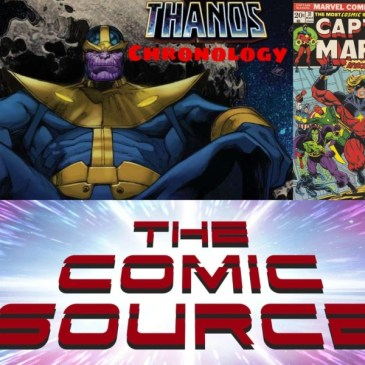 Thanos Reading Order – Captain Marvel #31 Marvel Chronology: The Comic Source Podcast