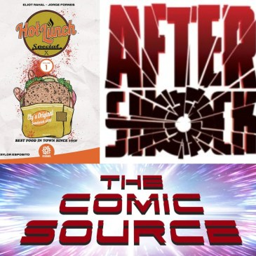 Hot Lunch Special Spotlight – AfterShock Monday: The Comic Source Podcast