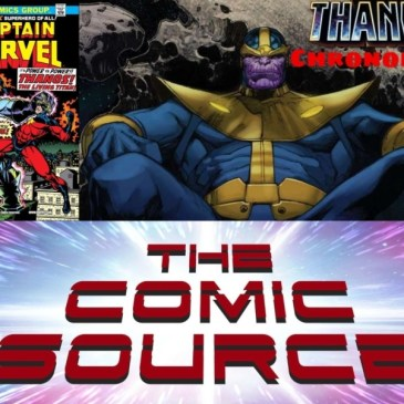 Captain Marvel #33 – Marvel Chronology Thanos Reading Order: The Comic Source Podcast