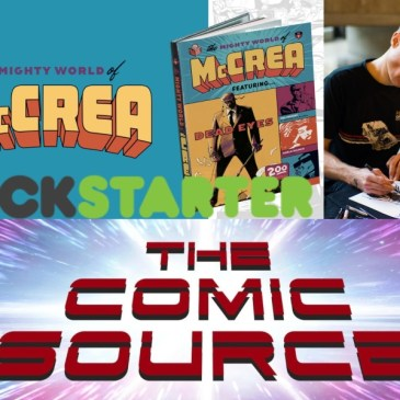 A Chat with John McCrea – Spotlight Friday: The Comic Source Podcast