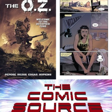 The O.Z. with David Pepose – Kickstarter Wednesday: The Comic Source Podcast