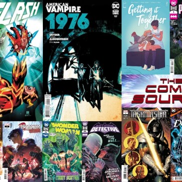 New Comic Wednesday November 11, 2020: The Comic Source Podcast