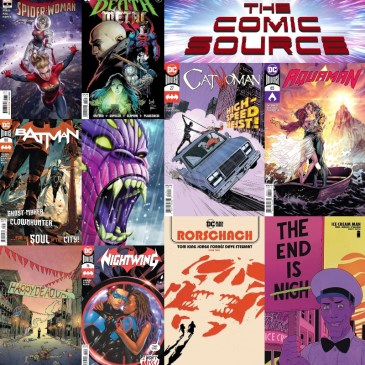 New Comic Book Wednesday November 18, 2020: The Comic Source Podcast