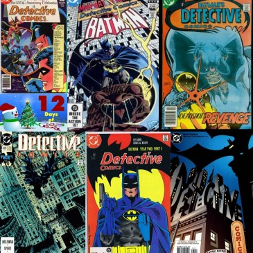 Five Favorite Covers – Detective Comics | 12 Days of The Comic Source: The Comic Source Podcast