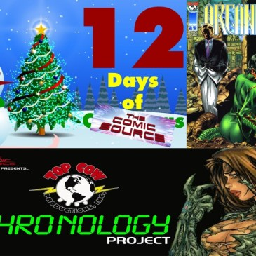Arcanum #3 Top Cow Chronology Project – 12 Days of The Comic Source: The Comic Source Podcast