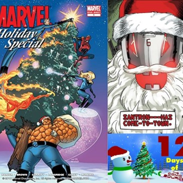 Marvel Holiday Special 2005 – 12 Days of the Comic Source: The Comic Source Podcast
