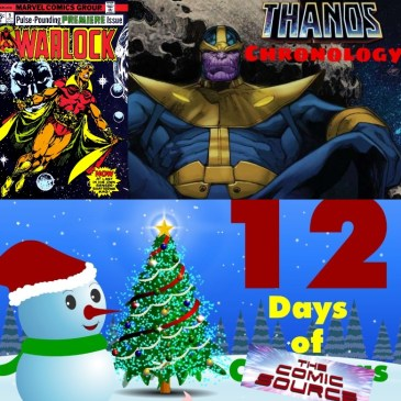Warlock #9 Thanos Reading Order Marvel Chronology – 12 Days of The Comic Source: The Comic Source Podcast