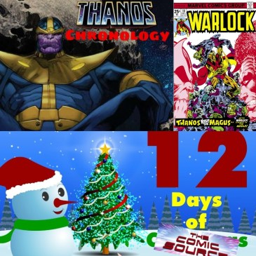 Warlock #10 Thanos Reading Order Marvel Chronology – 12 Days of The Comic Source: The Comic Source Podcast