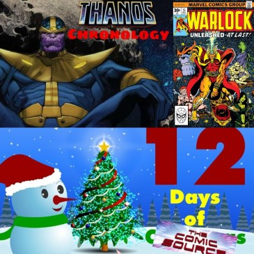 Warlock #15 Thanos Reading Order Marvel Chronology – 12 Days of The Comic Source: The Comic Source Podcast