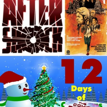 Red Atlantis #1 | AfterShock Monday – 12 Days of The Comic Source: The Comic Source Podcast