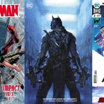 Hawkman #10, Grim Knight #1 & Wonder Twins #2 | Spotlight Friday: The Comic Source Podcast