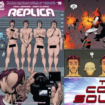 Replica #5 | AfterShock Monday: The Comic Source Podcast