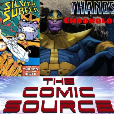 Silver Surfer #34 | Thanos Reading Order – Marvel Chronology: The Comic Source Podcast