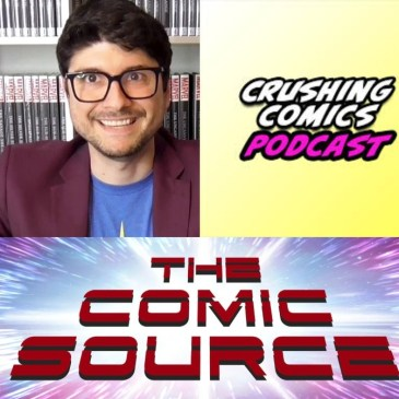 Comic Book Content Creator Conversation with Crushing Krisis: The Comic Source Podcast