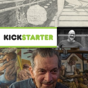 The Unseen Jack Katz Kickstarter Spotlight with Liam Sharp: The Comic Source Podcast