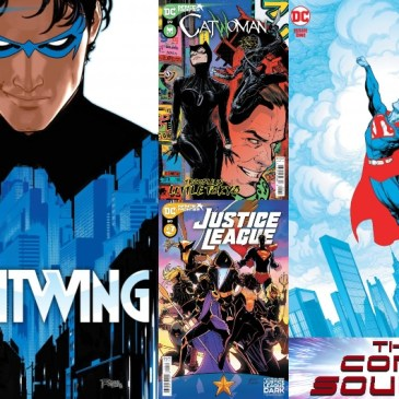 DC Spotlight March 16, 2021 Releases: The Comic Source Podcast