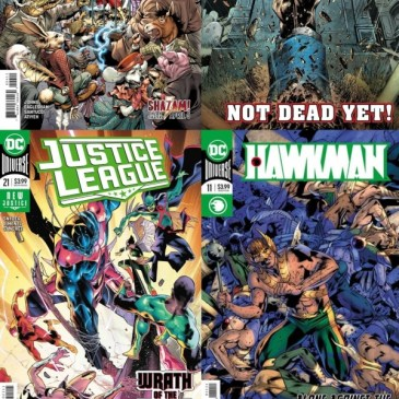 Freedom Fighters #4, Shazam #4, Justice League #21 & Hawkman #11 | Friday Spotlight: The Comic Source Podcast