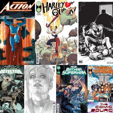 DC Spotlight April 27, 2021 Releases: The Comic Source Podcast