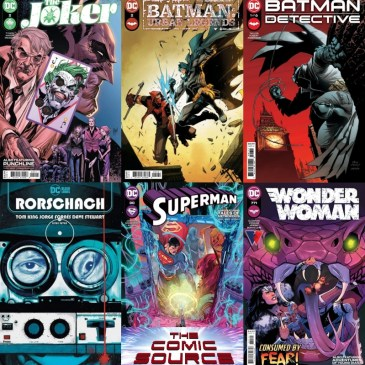 DC Spotlight April 13, 2021 Releases: The Comic Source Podcast