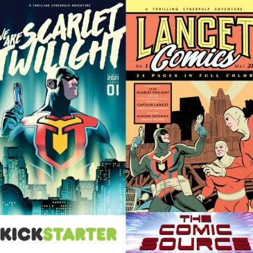 We Are Scarlet Twilight Kickstarter Spotlight: The Comic Source Podcast