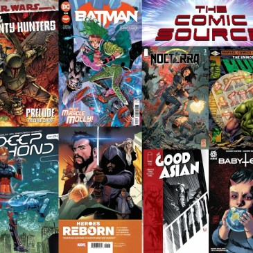 New Comic Wednesday May 5, 2021: The Comic Source Podcast