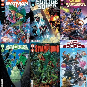 DC Spotlight May 4, 2021 Releases: The Comic Source Podcast