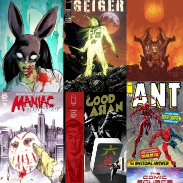 New Comic Wednesday June 9, 2021: The Comic Source Podcast