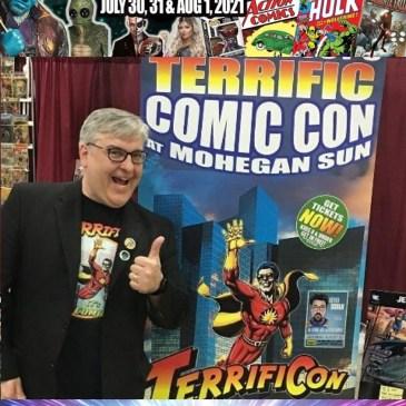 Terrificon Spotlight with Mitch Hallock: The Comic Source Podcast