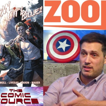 Zoop – The Future of Comic Book Crowdfunding with Jordan Plosky: The Comic Source Podcast