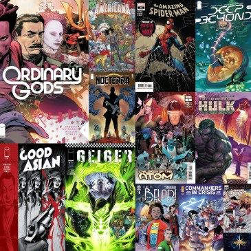 New Comic Wednesday July 7, 2021: The Comic Source Podcast