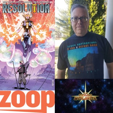 Resolution Campaign on Zoop with Ron Marz: The Comic Source Podcast