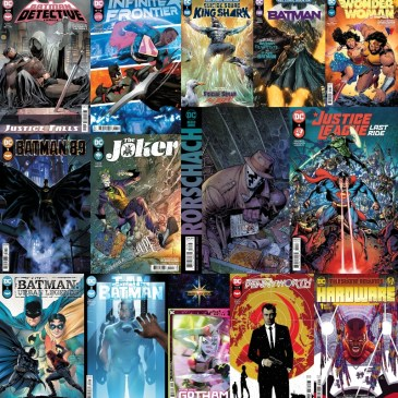 DC Spotlight August 10, 2021 Releases: The Comic Source Podcast