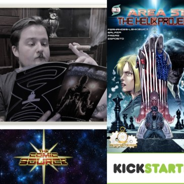 Area 51: The Helix Project Kickstarter Spotlight | The Comic Source Podcast