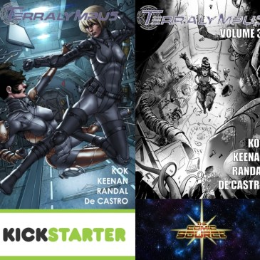 Terralympus Kickstarter Spotlight: The Comic Source Podcast