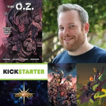 The O.Z. #2 Kickstarter Spotlight with David Pepose: The Comic Source Podcast