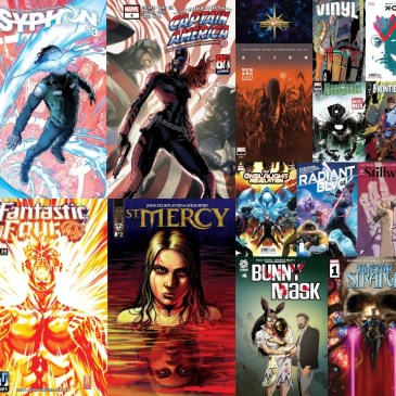 New Comic Wednesday September 22, 2021: The Comic Source Podcast