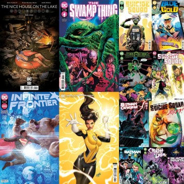 DC Spotlight September 7, 2021 Releases: The Comic Source Podcast