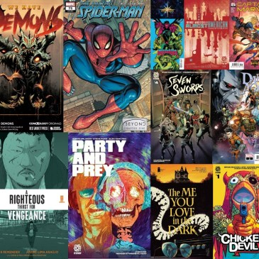 New Comic Wednesday September 29, 2021: The Comic Source Podcast