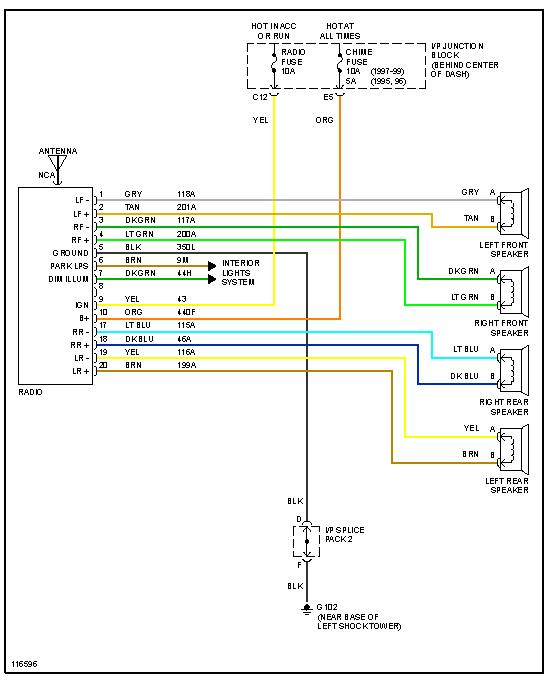 Wiring Diagram For 1998 Saturn - All of Wiring Diagram