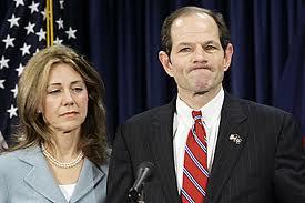 Spitzer and his biggest victim, Mrs. Spitzer