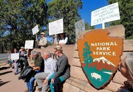grand canyon protestors