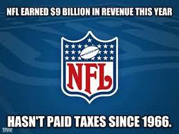 nfl tax exempt