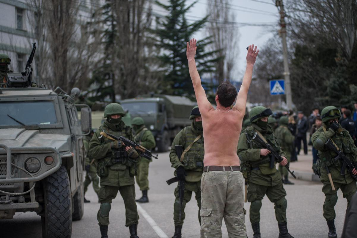 Just like in this picture, Ukraine will be quickly overwhelmed by Russian forces.