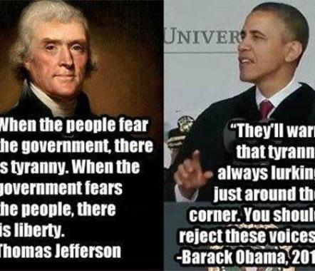 tyranny tj and obama