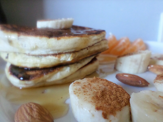 Mes pancakes parfaits