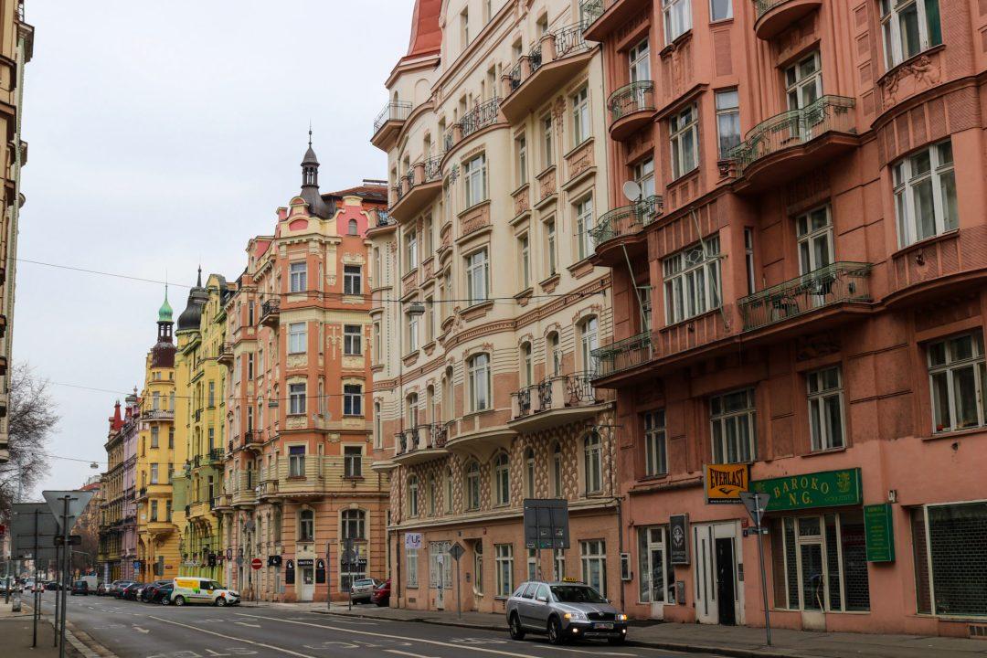 Architecture de Prague