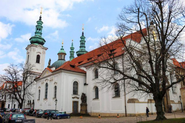 Monastère strahov à Prague