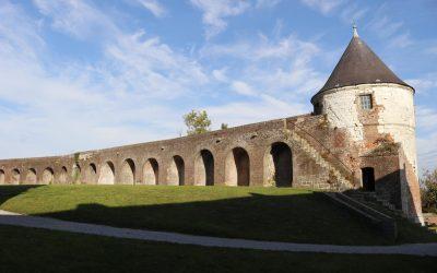 Logement insolite en France:  la citadelle de Montreuil sur mer